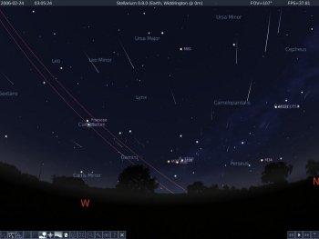 3D Симулятор Звездного Неба Stellarium