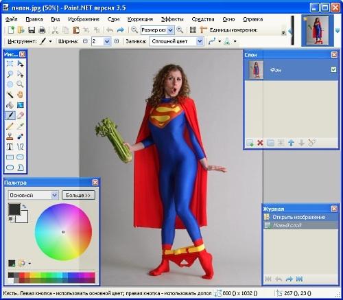 Обновление графического редактора Paint.NET 3.5.0
